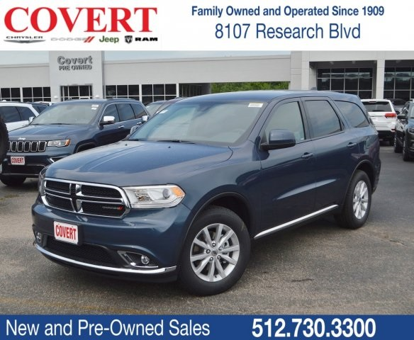 Covert Dodge Austin Tx >> New 2019 Dodge Durango Sxt Rwd