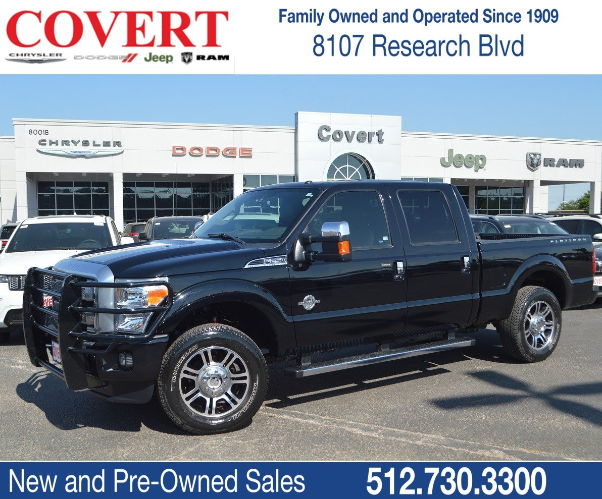 Pre Owned 2016 Ford Super Duty F 250 Srw Platinum