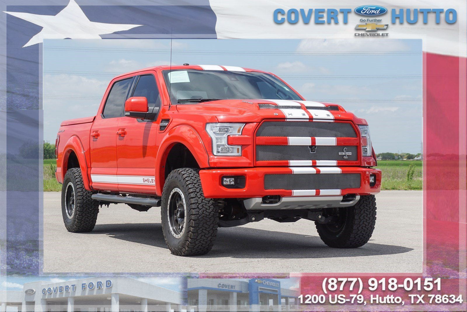 Pre Owned 2016 Ford F 150 Lariat Shelby