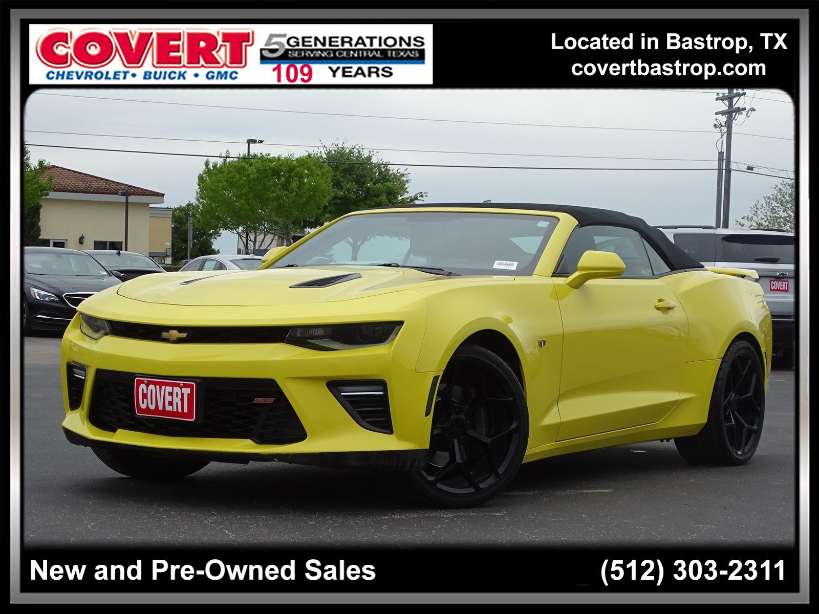 Pre Owned 2017 Chevrolet Camaro Ss