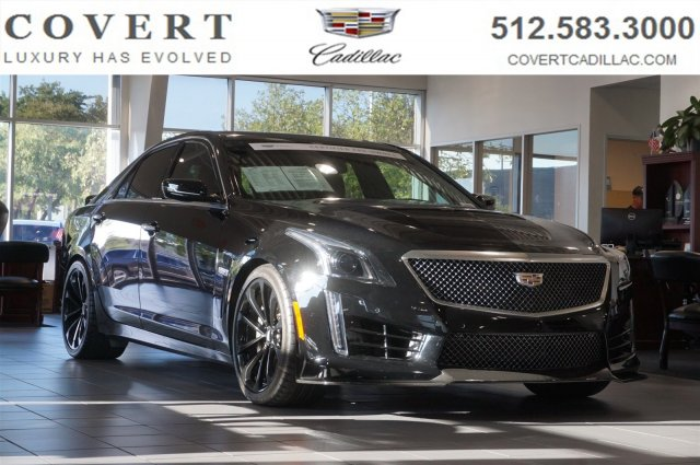 Pre Owned 2019 Cadillac Cts V Sedan 4dr Sdn Rwd 4dr Car