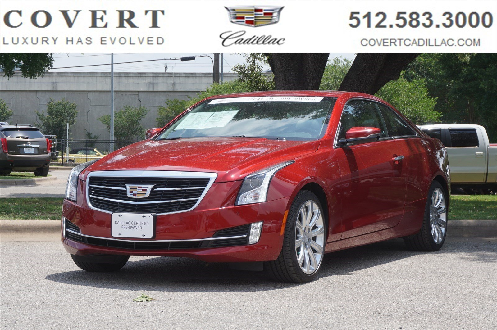 Pre Owned 2016 Cadillac Ats Coupe Luxury Collection Rwd