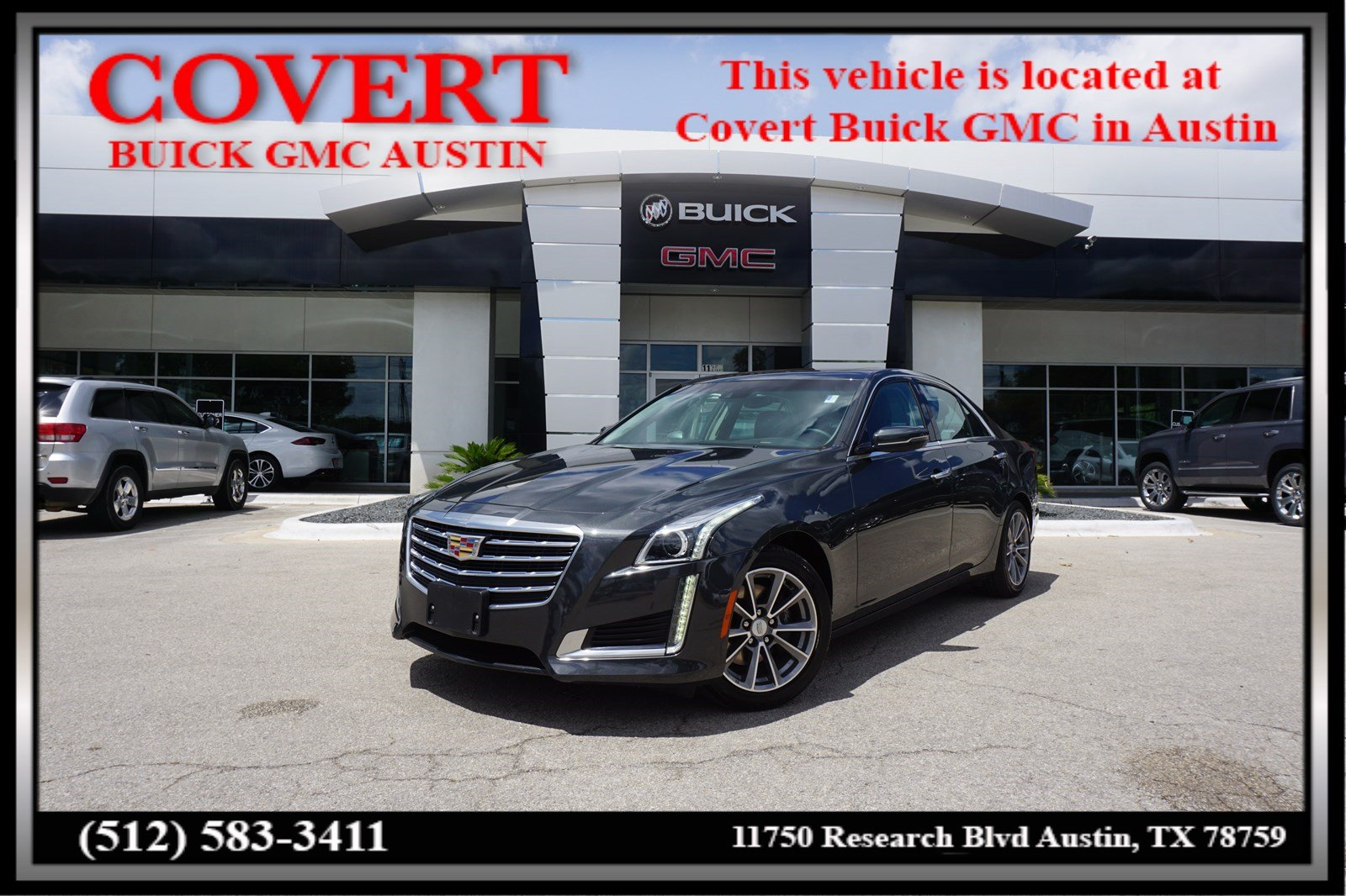 Pre Owned 2018 Cadillac Cts Sedan Luxury Rwd 4dr Car In Austin