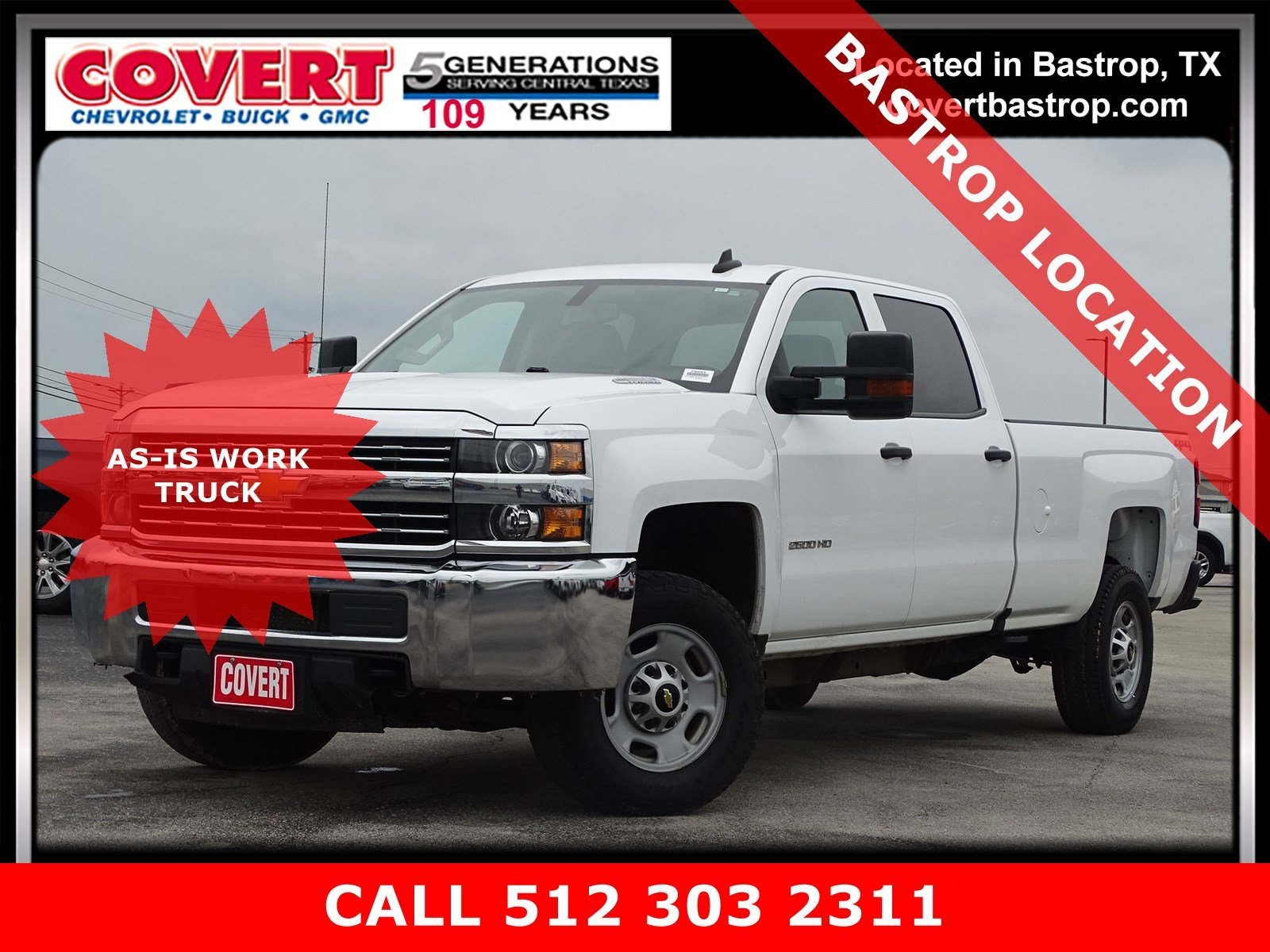 Pre Owned 2016 Chevrolet Silverado 2500hd Work Truck