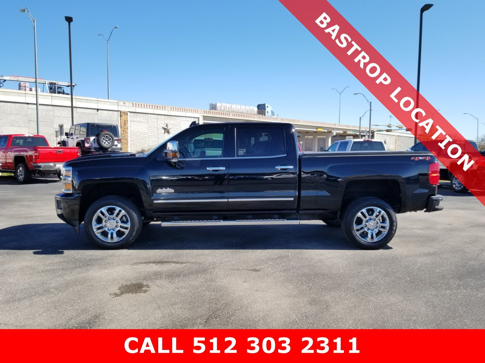 Pre-Owned 2019 Chevrolet Silverado 2500HD High Country