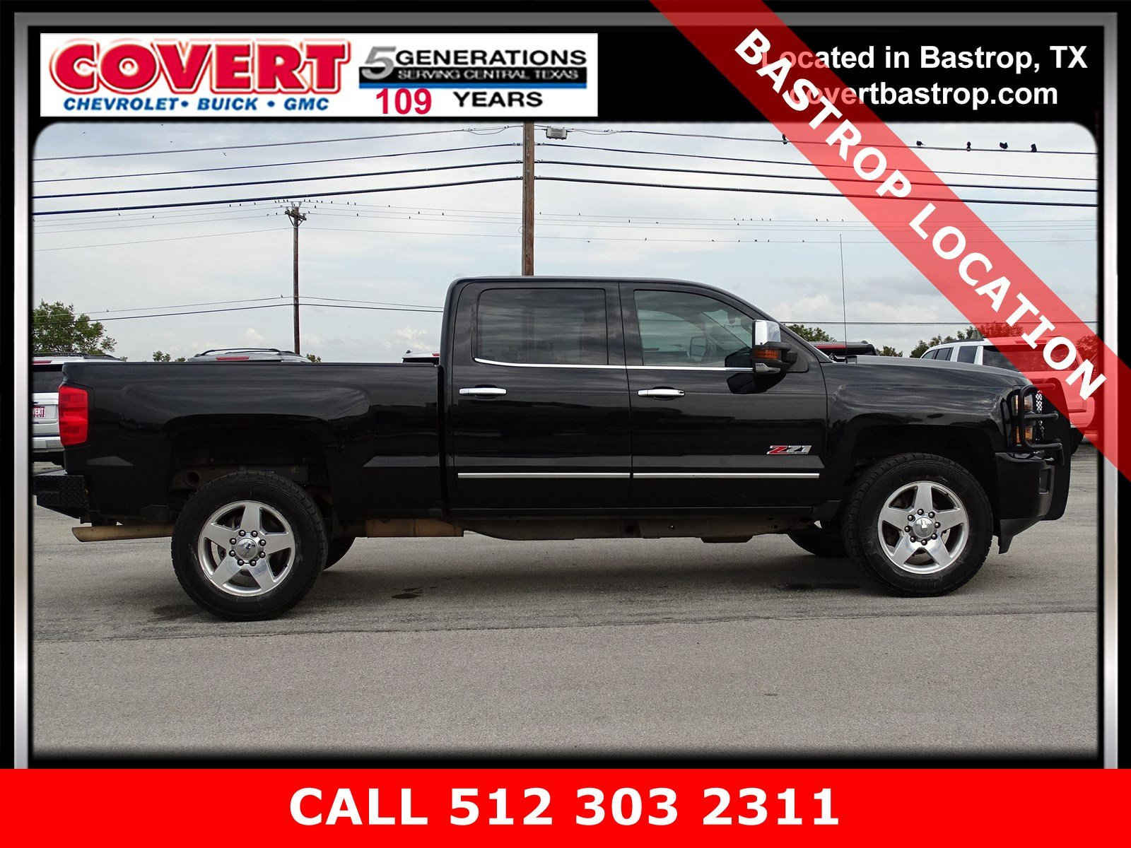 Pre-Owned 2015 Chevrolet Silverado 2500HD Built After Aug 14 LTZ