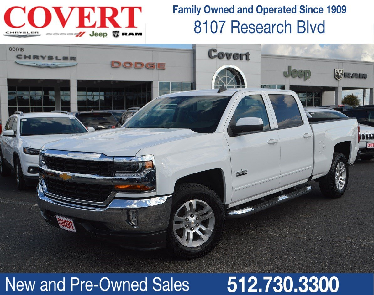 Pre Owned 2017 Chevrolet Silverado 1500 Lt Crew Cab Pickup In Austin