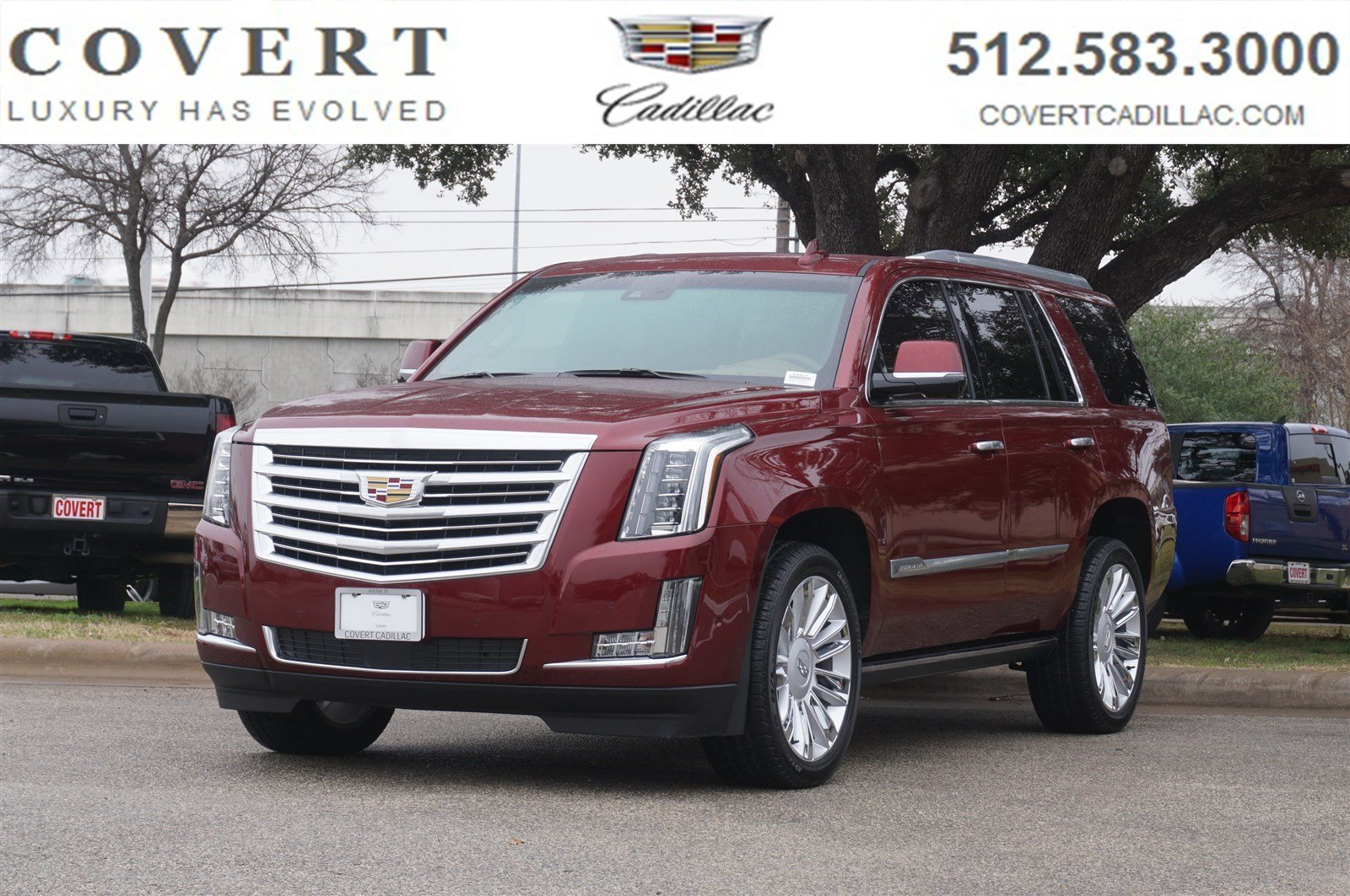 pre-owned 2017 cadillac escalade platinum sport utility in austin