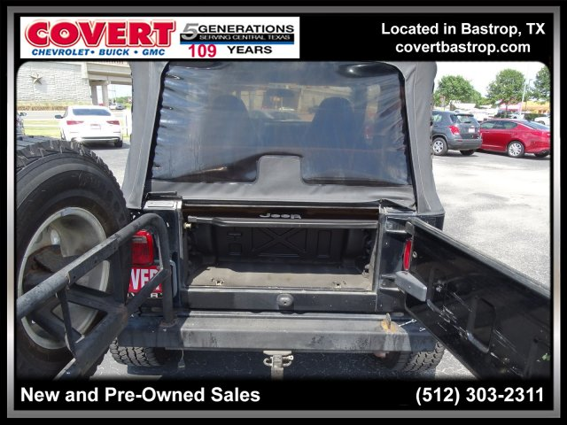 Pre-Owned 2002 Jeep Wrangler Sport