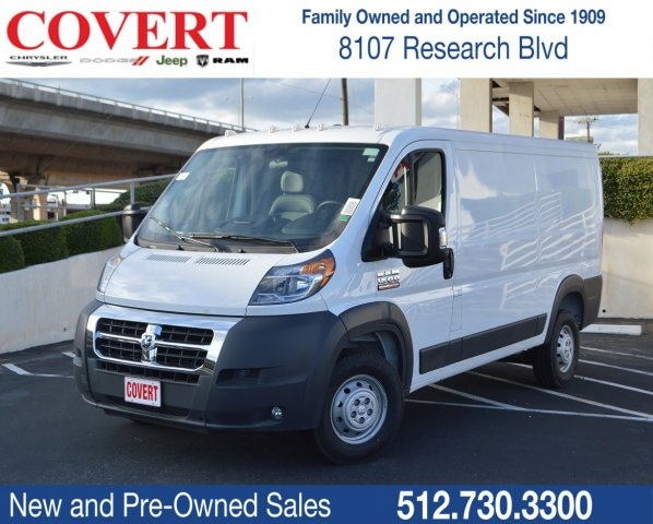b5fd827f7a4239 New 2018 RAM ProMaster Low Roof Cargo Van in Austin  R05985