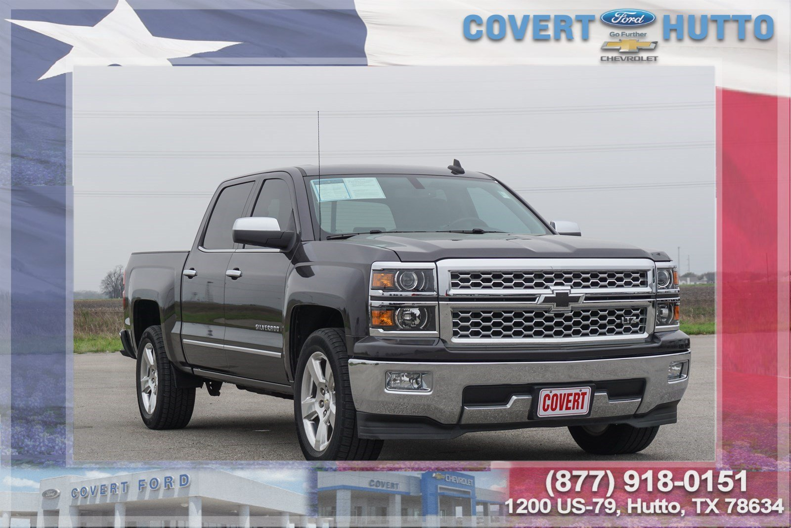 Pre Owned 2015 Chevrolet Silverado 1500 Ltz Crew Cab Pickup In