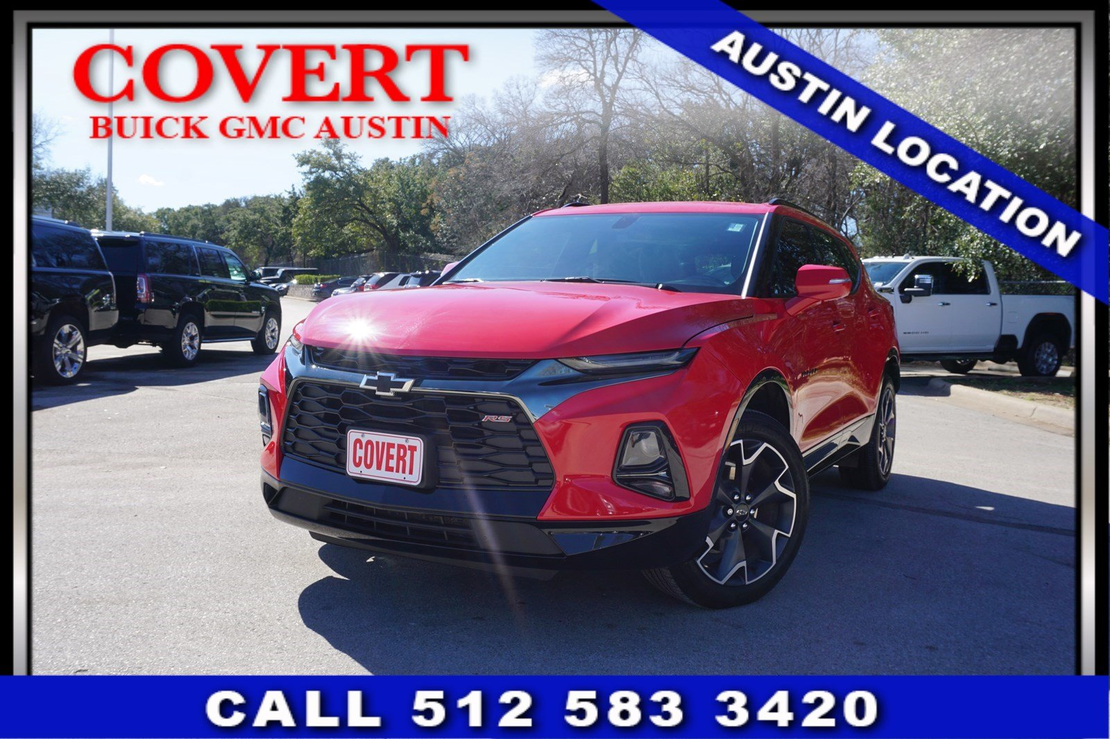 Pre-Owned 2019 Chevrolet Blazer RS