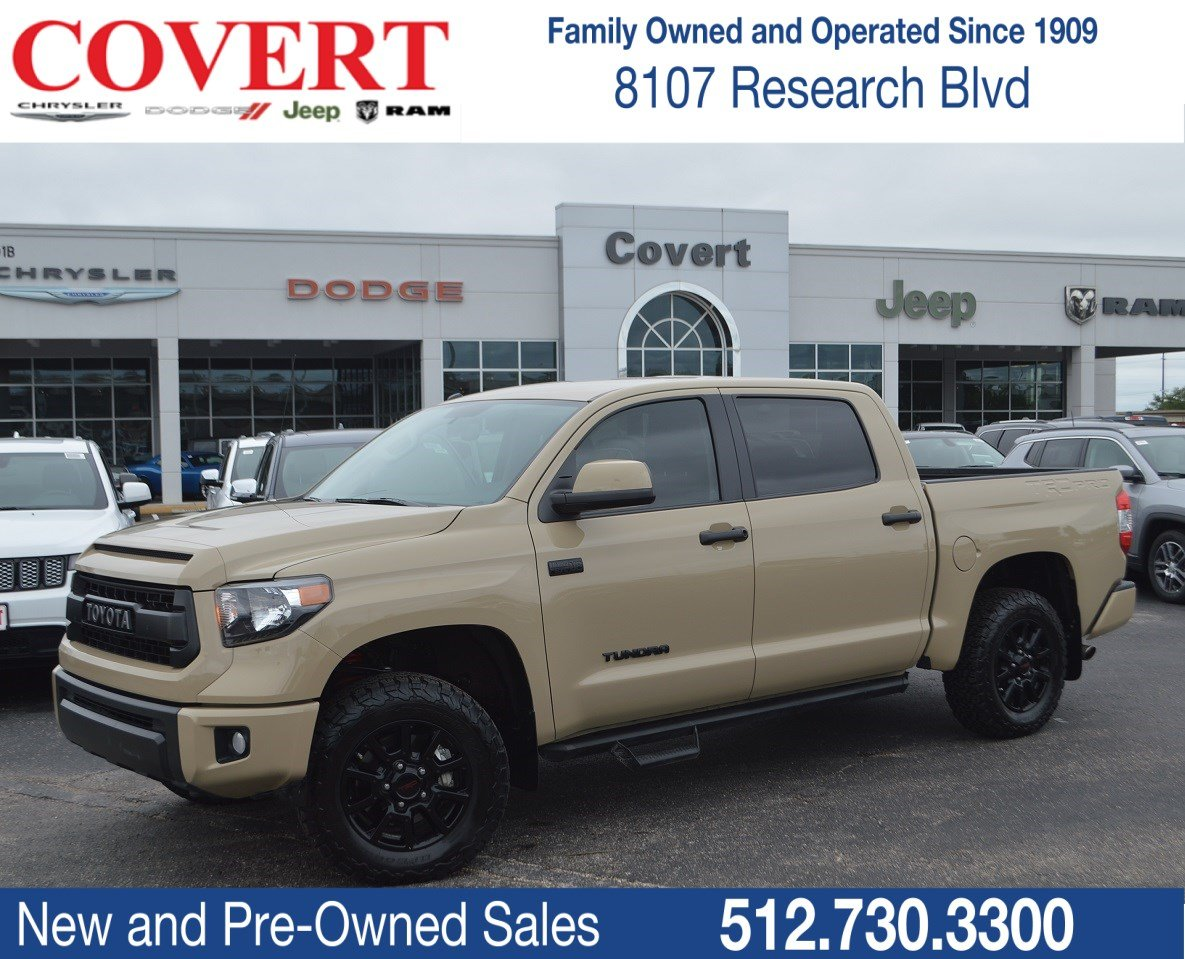 Pre Owned 2016 Toyota Tundra 4wd Truck Trd Pro