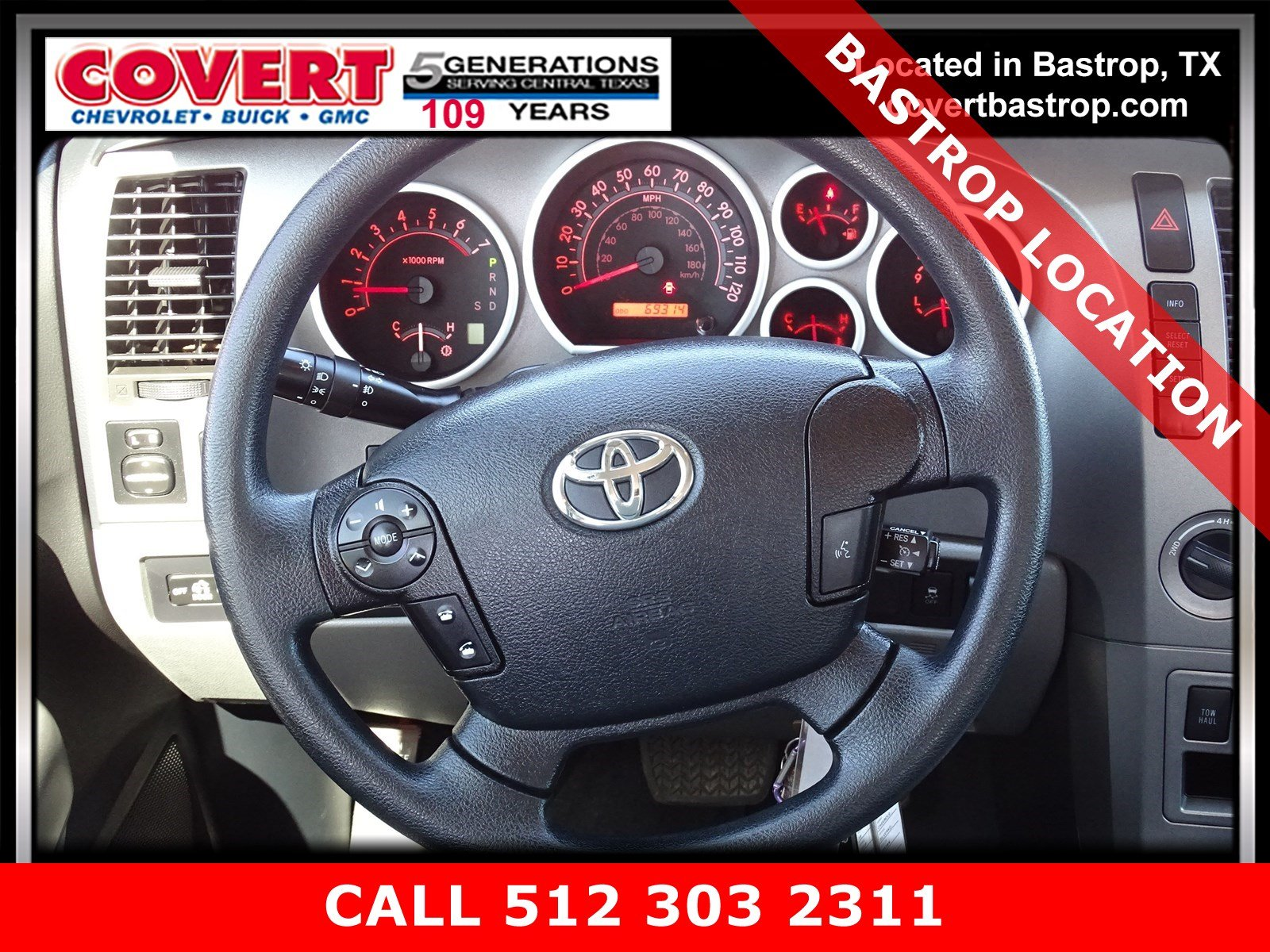 Pre-Owned 2013 Toyota Tundra 4WD Truck CREW 4WD FFV V8 5