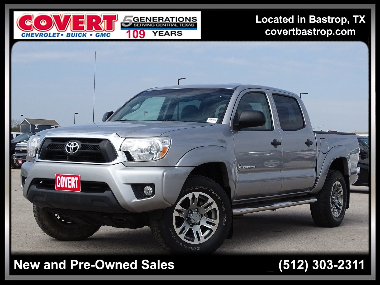 Pre Owned 2015 Toyota Tacoma Crew Cab Pickup In Austin 390848c
