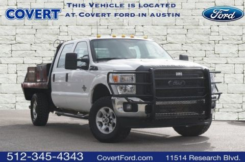Pre-Owned 2016 Ford Super Duty F-350 SRW FLATBED XL