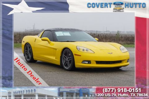 Pre-Owned 2007 Chevrolet Corvette 2DR CPE