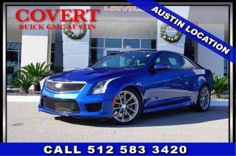 Pre-Owned 2016 Cadillac ATS-V Coupe Base