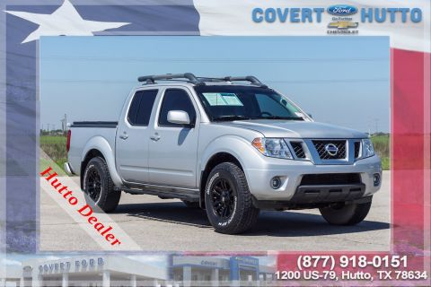 Pre-Owned 2017 Nissan Frontier PRO-4X