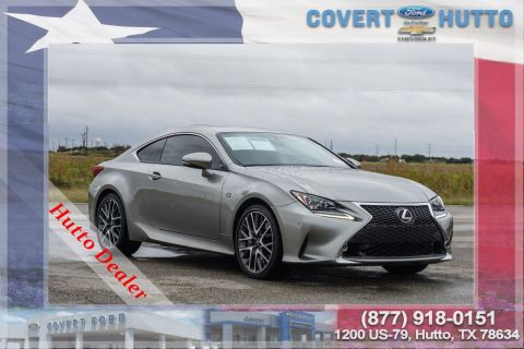 Pre-Owned 2015 Lexus RC 350 2DR CPE RWD